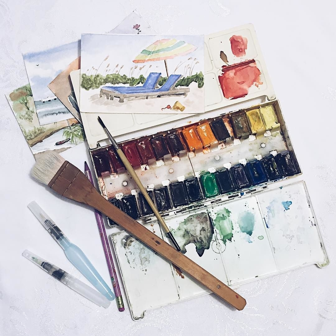 Wishing_I_were_there._Watercolor_postcards.__paintingwatercolor__paintbrush__holidaywishes