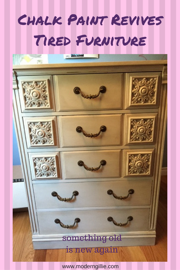 chalk paint revives furniture, www.moderngillie.com