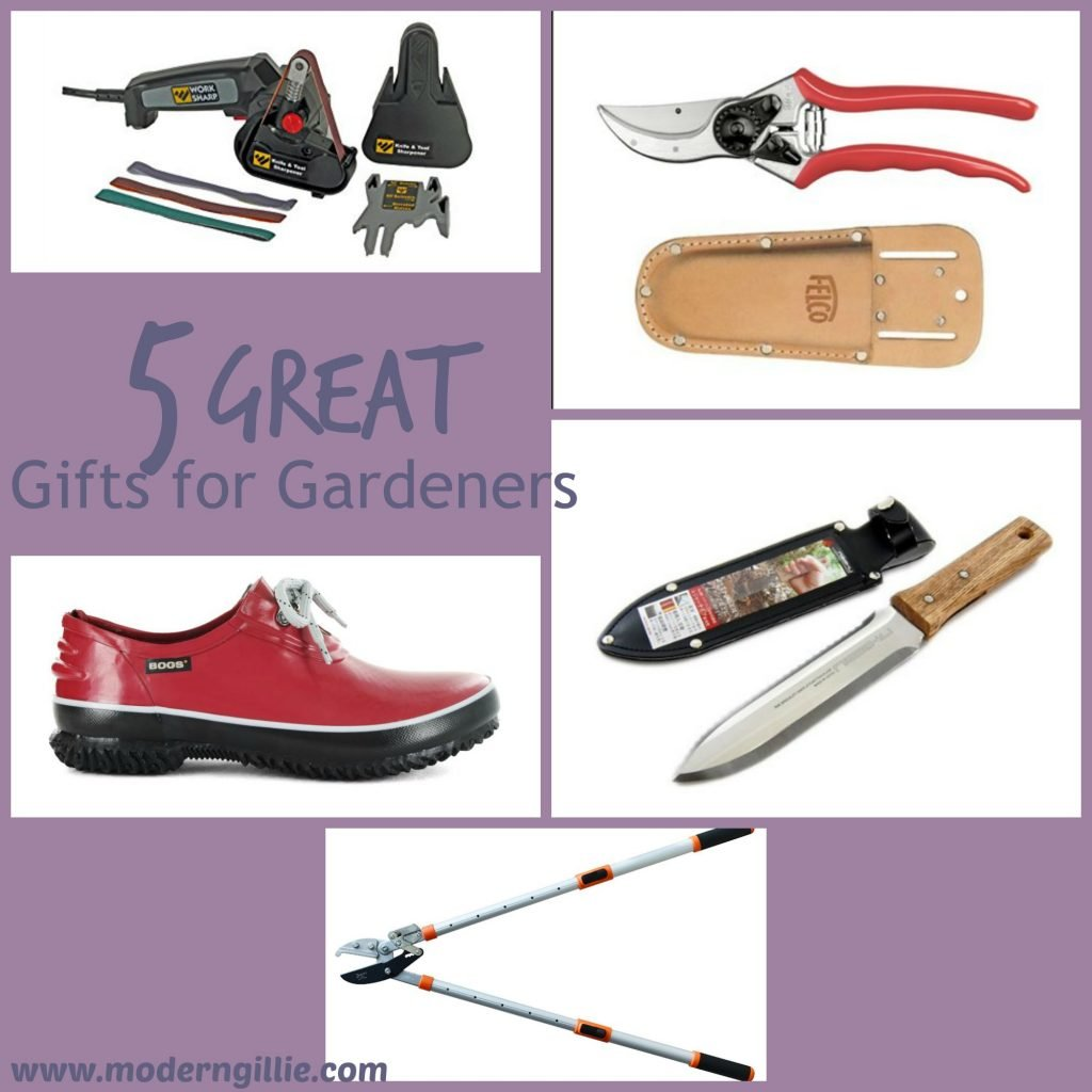 5 great gifts for gardeners, www.moderngillie.com