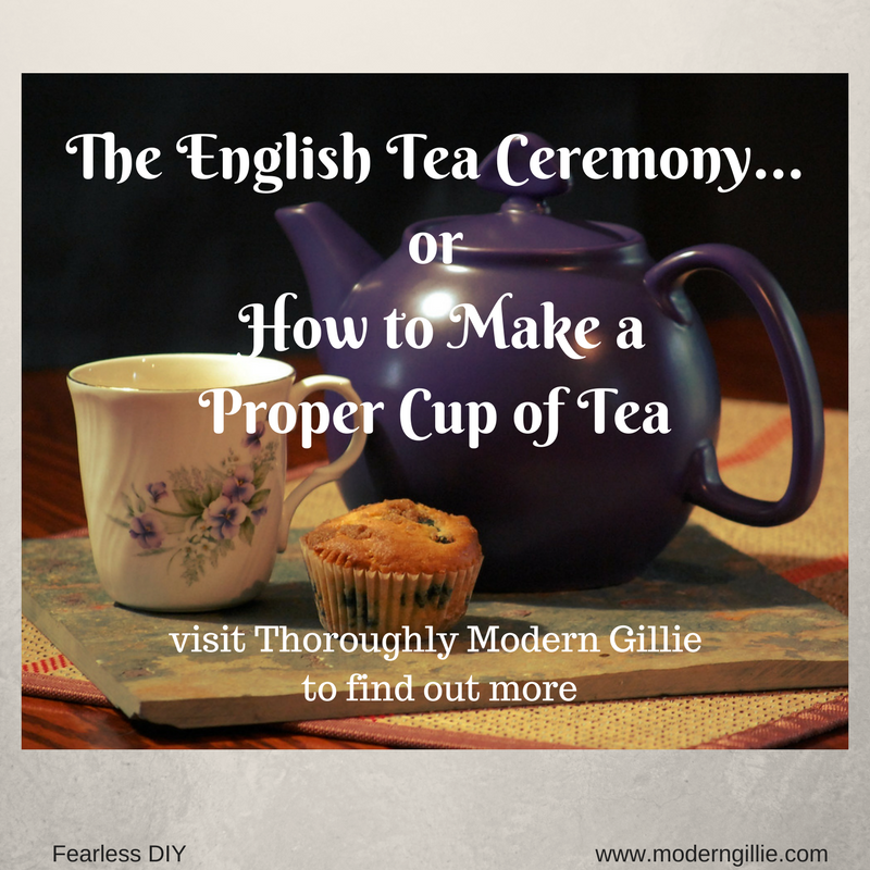 The English Tea Ceremony...or How To Make a Proper Cup of ...