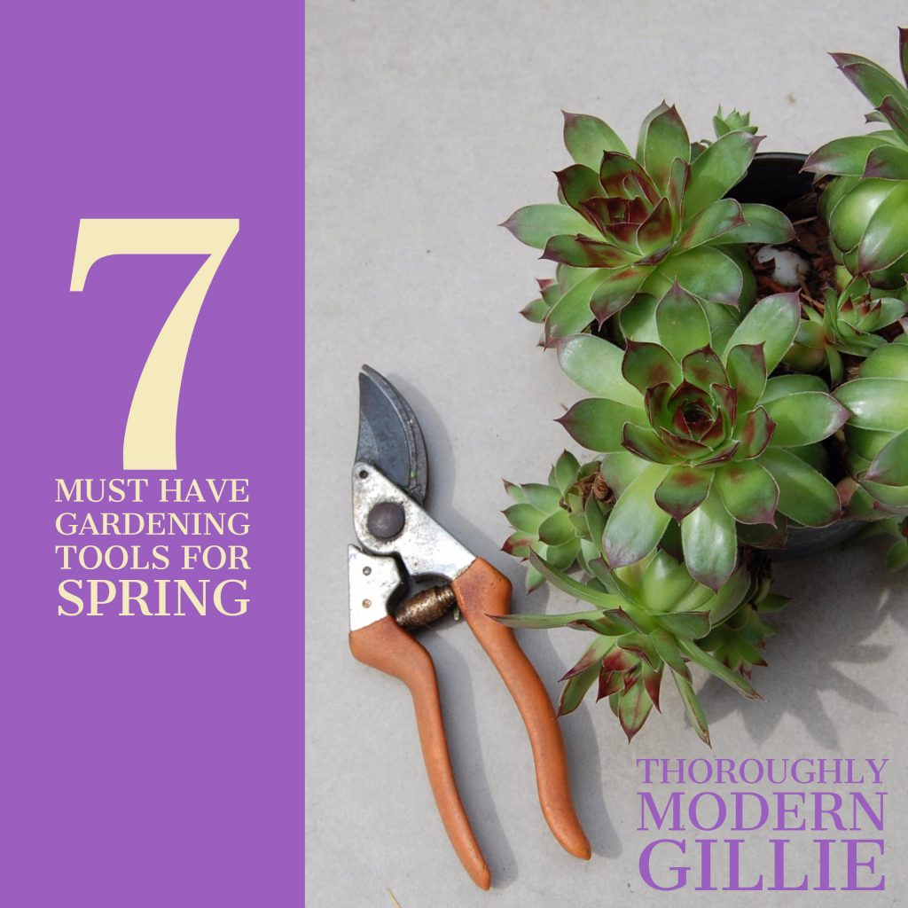 7 must have gardening tools for spring thoroughly modern for Gardening tools 7 letters