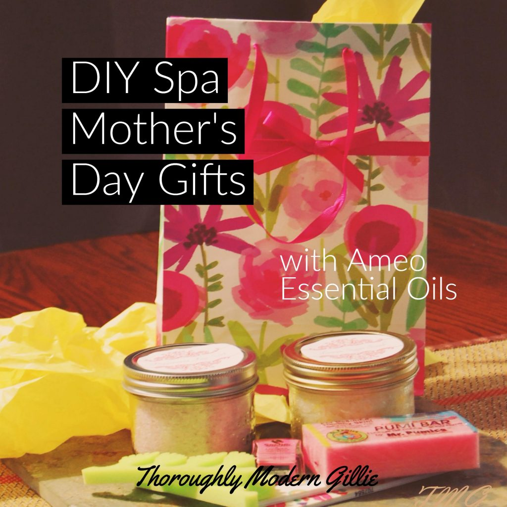 DIY Spa Mother's Day Gifts, www.moderngillie.com