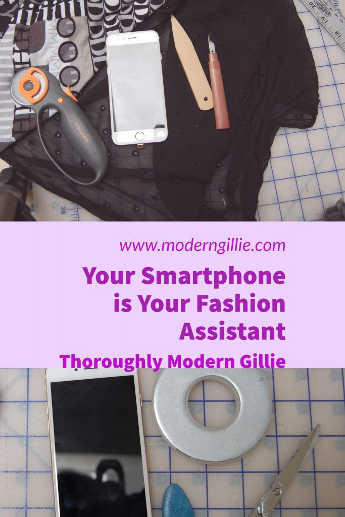 smartphone fashion assistant, www.moderngillie.com