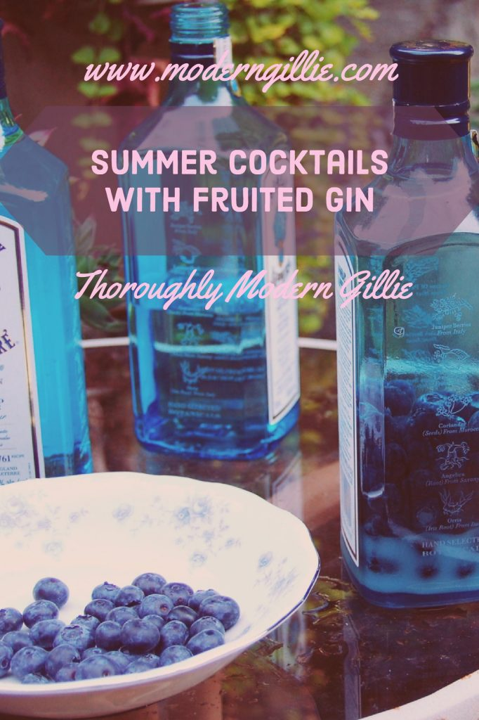 Summer Cocktails with Fruited Gin, refreshing summer Drinks, www.moderngillie.com