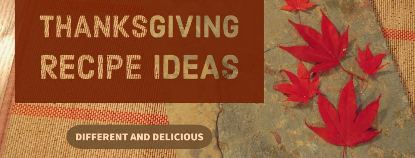 Thanksgiving Recipe Ideas, www.moderngillie.com