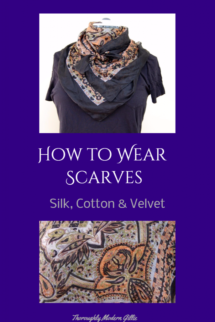 How to Wear Scarves, www.moderngillie.com, #scarf #scarves #wearingscarves #travelwardrobe #fashion