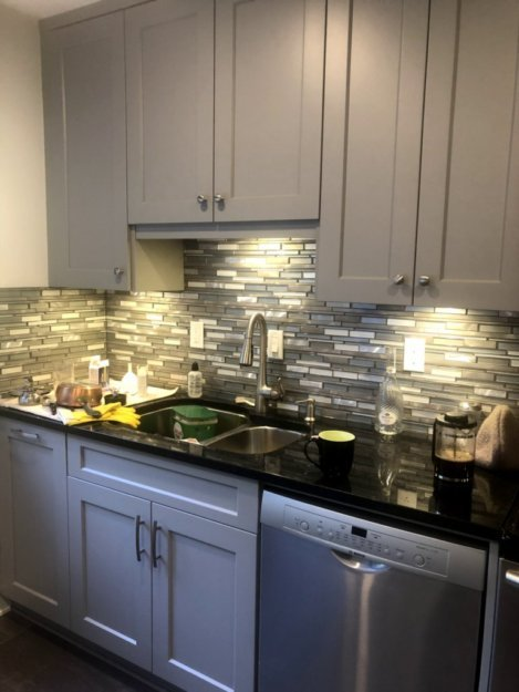 kitchen renovation before and after, www.moderngillie.com