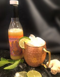moscow mule with ginger beer mix cocktail mixers