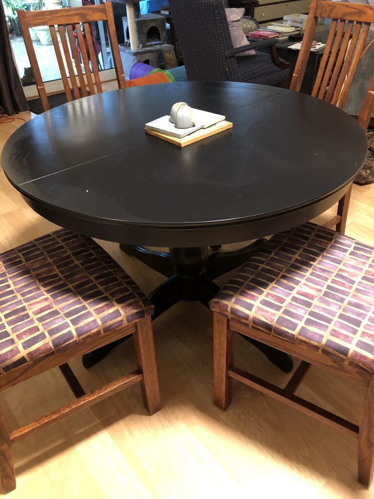 recovered dining room chairs